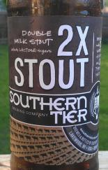 2X stout label