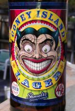 Coney Island Lager label